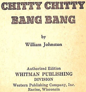 """Chitty Chitty Bang Bang"" 1968 JOHNSTON, William"