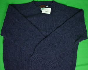 "O'Connell's Shetland Seed Stitch Wool Crewneck Sweater Sz: 48"" (New w/ Tag!)"