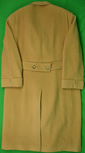 Brooks Brothers Camel Hair Polo Coat Sz: 46L