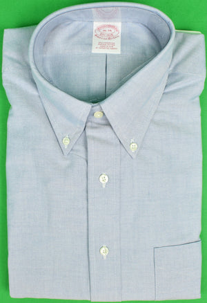 Brooks Brothers Blue OCBD Shirt Sz: 16-34 (New w/ Tag!)