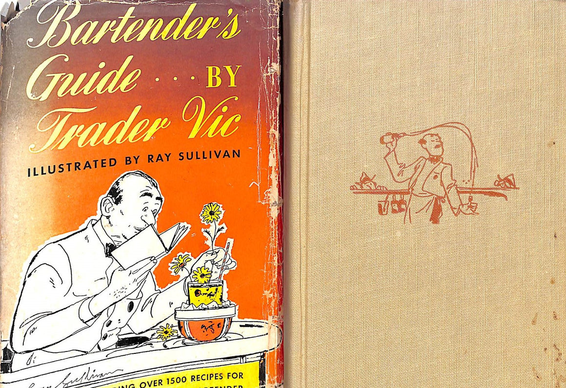 """Bartender's Guide by Trader Vic"" 1948 by Vic, Trader"
