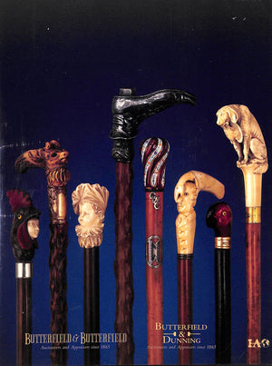 """The Herbert G. Ratner Jr Cane Collection August 23, 1999"""