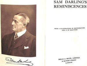 """Sam Darling's Reminiscences"" DARLING, Sam"