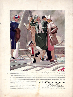 Voyager: Fashionable Travel March 1938