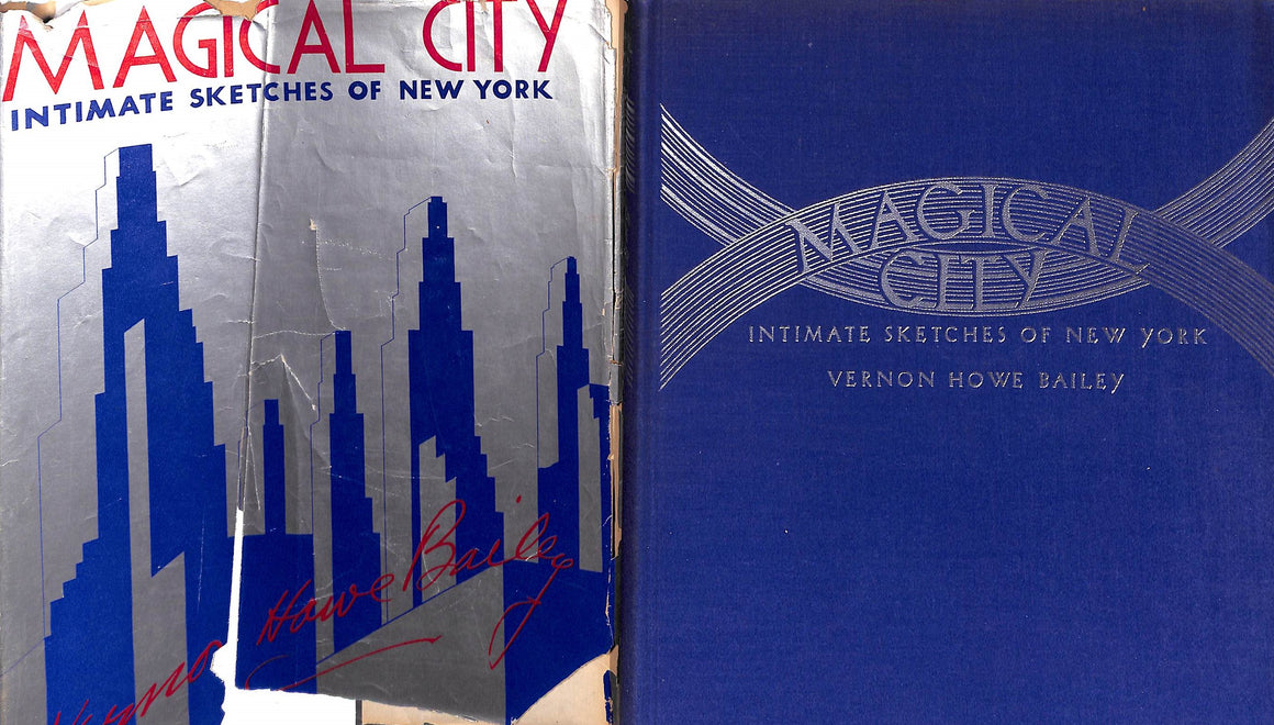 """Magical City: Intimate Sketches of New York"" 1935"