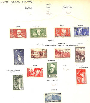 """19th-Early 20th Century Foreign Postage Stamp Album"""
