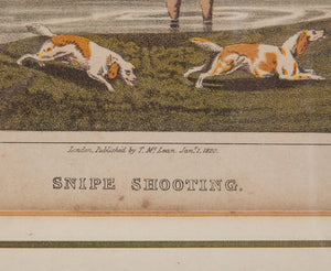 After Henry Alken (1785-1851): Snipe Shooting