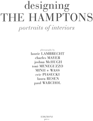 """Designing the Hamptons"""