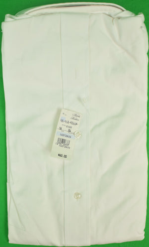 Brooks Brothers White Pinpoint OCBD (New/ Old Deadstock!) 16-4 (SOLD)