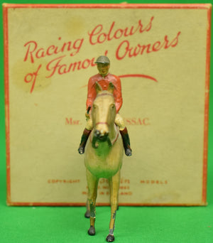 Britains Racing Colours of Famous Owners: Msr. M. Boussac