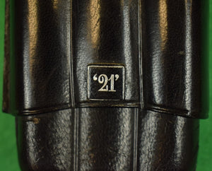"The ""21"" Club 3 Cigar Leather Holder (SOLD)"