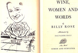 """Wine, Women and Words"" 1948 ROSE, Billy"