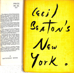"""Cecil Beaton's New York"" 1938 BEATON, Cecil"