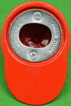 """21"" Club Red/ White Jockey Cap Bottle Opener (New in Box!) (SOLD)"