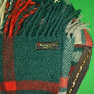 """Abercrombie & Fitch Wool Plaid Sleeping Bag"""