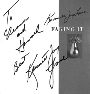 """Faking It"" LANE, Kenneth Jay (Inscribed!)"