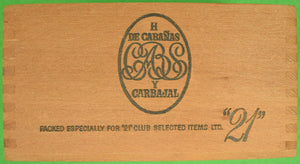 """21"" Club Jack & Charlie's Cigar Box"