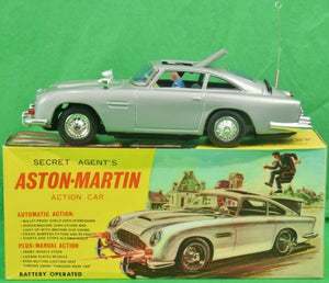 'Secret Agent's Aston-Martin DB5 c.1965 Action Car'
