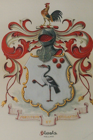 'Staats Armorial Watercolour'
