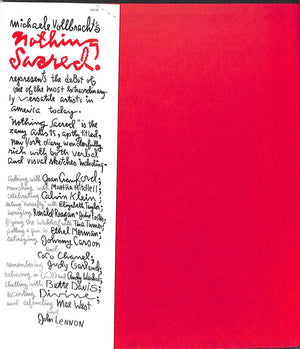 """Nothing Sacred"" 1985 VOLLBRACHT, Michaele (Signed!)"