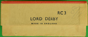Britains Racing Colours of Famous Owners: Lord Derby