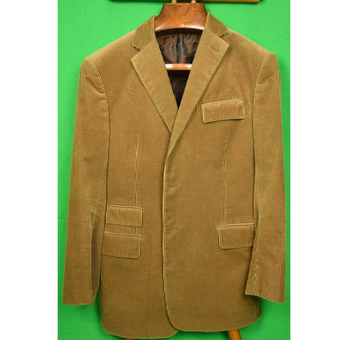 """Ralph Lauren Purple Label Italian Corduroy Jacket"" Sz 40R"