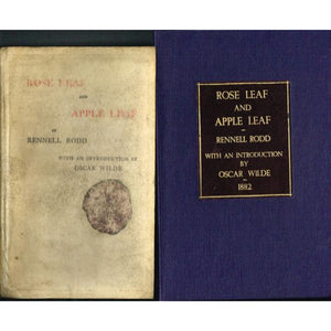 'Rose Leaf and Apple Leaf' 1882 w/ an Intro by Oscar Wilde