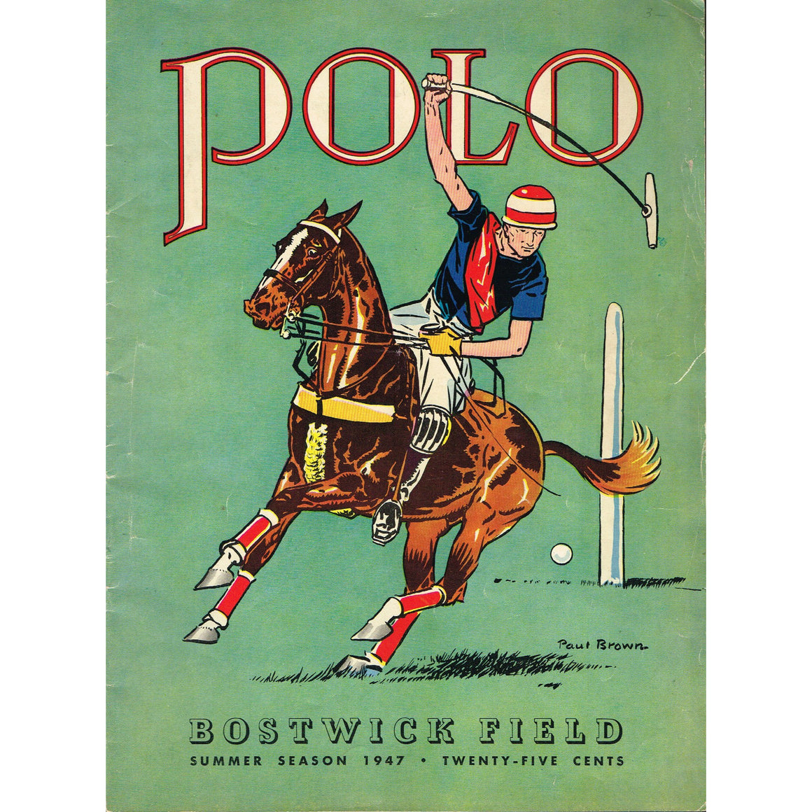 Polo Bostwick Field Summer 1947