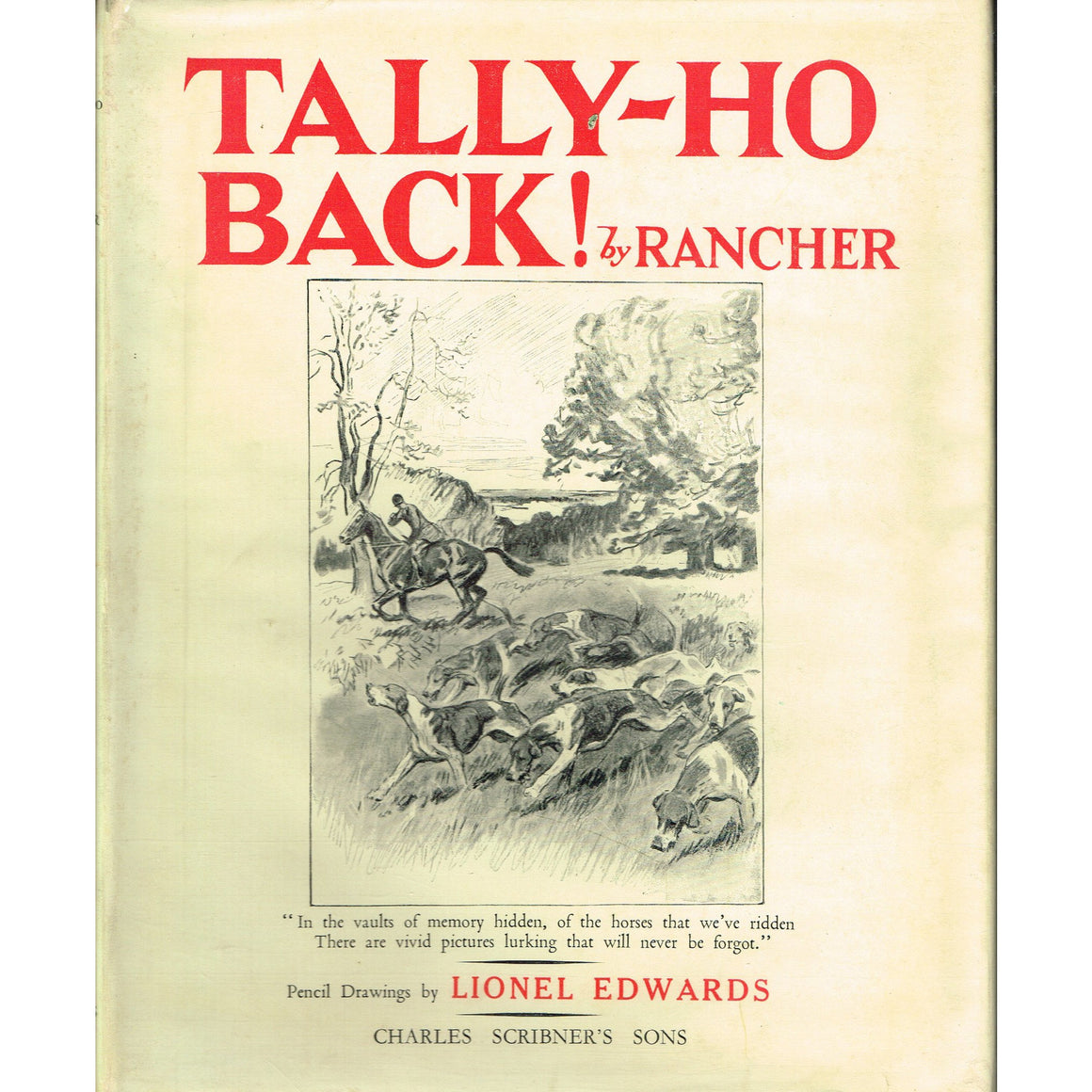 Tally-Ho Back!
