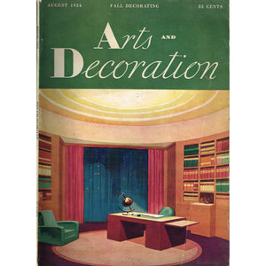Arts and Decoration, August 1934