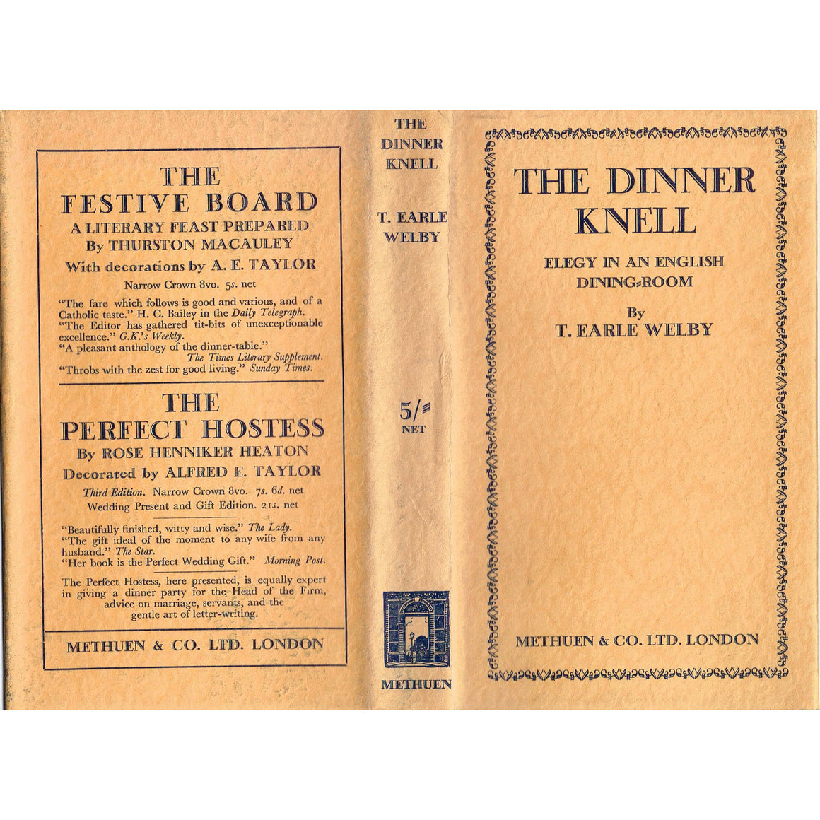 The Dinner Knell: Elegy in an English Dining Room