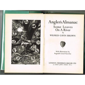 Angler's Almanac: Some Leaves on a River