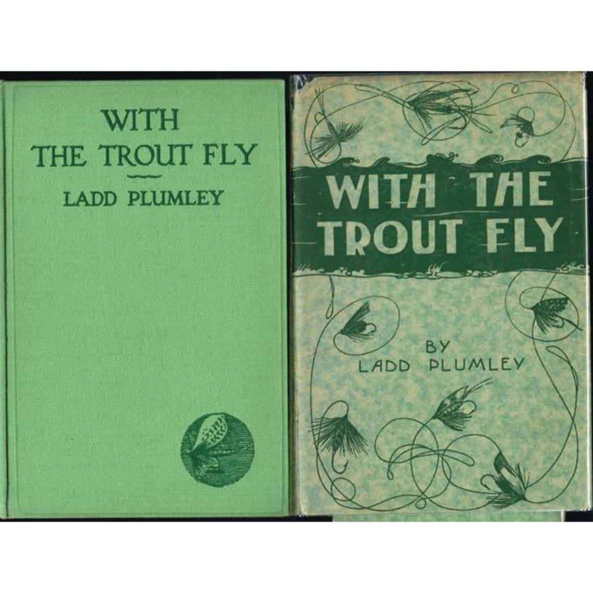 'With the Trout Fly' by Ladd Plumley