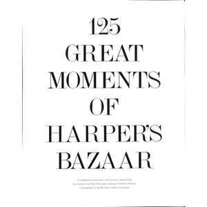 125 Great Moments of Harper's Bazaar