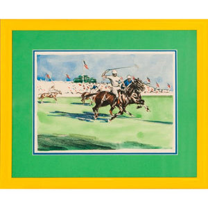 International Polo Field Scene