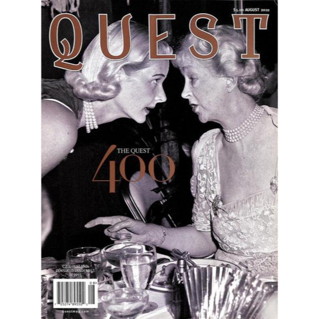 'The Quest 400' August 2010