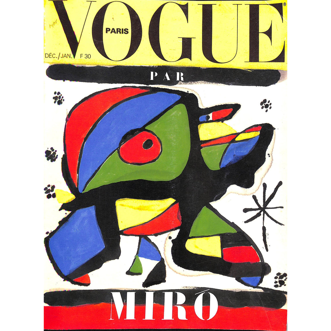 Vogue Paris: Miro Issue