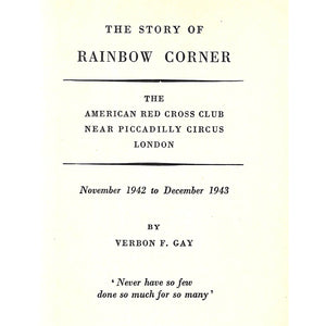 The Story of Rainbow Corner