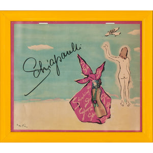 Shocking Schiaparelli 1966 Place Vendome Vertes Calendar