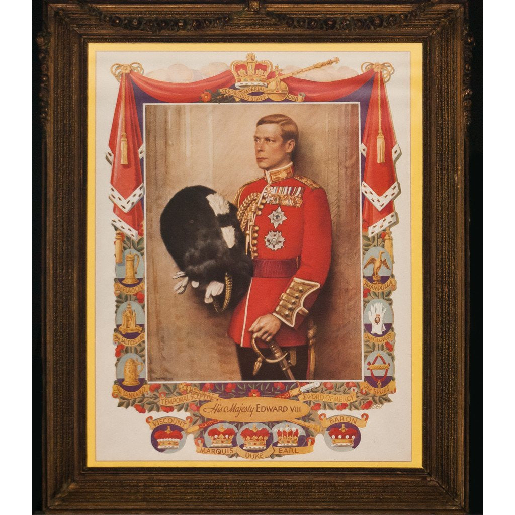 His Majesty Edward VIII