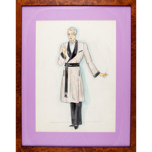 Gentleman in Dressing Gown