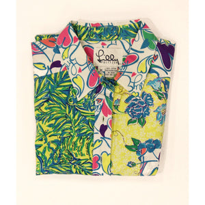 Lilly Pulitzer Woman's Floral Print Shirt