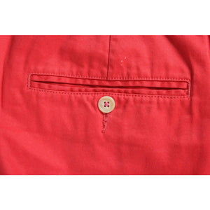 "Lilly Pulitzer Yacht Club Red Poplin Trousers Sz: 36""W"