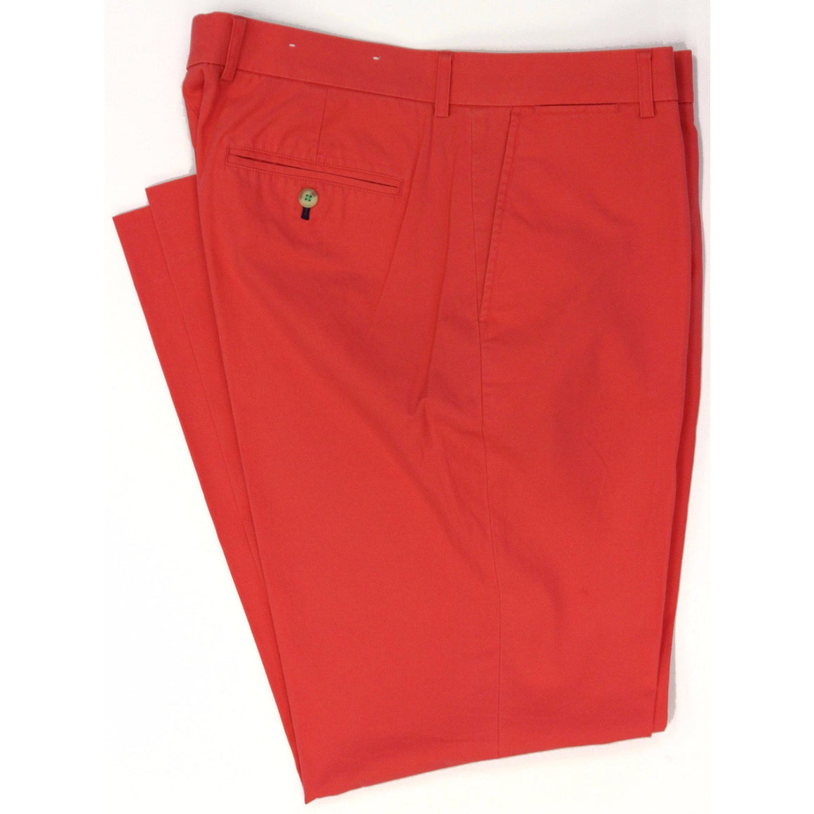 "Lilly Pulitzer Coral Beach Club Red Poplin Trousers Sz: 36""W"