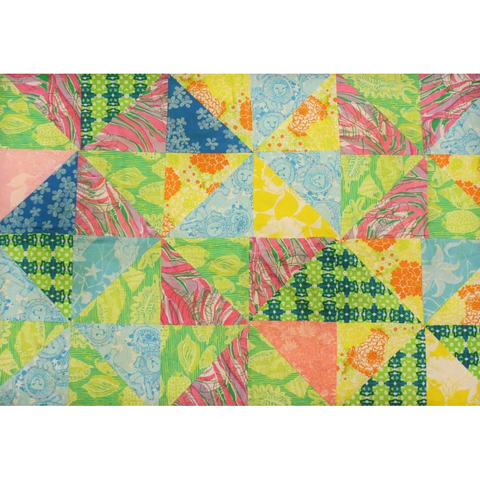 Lilly Pulitzer Custom Patch Quilt