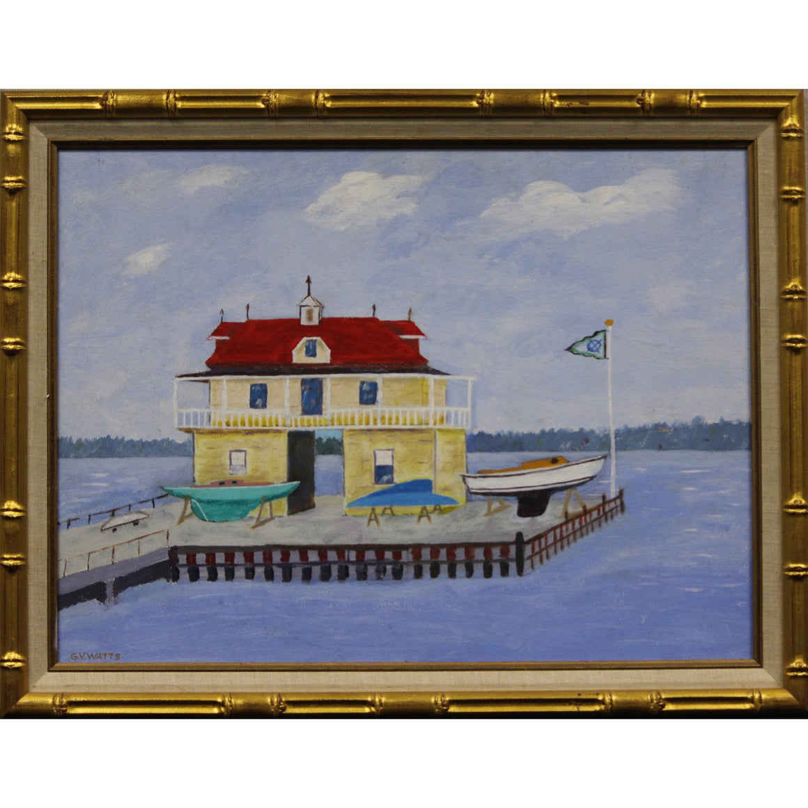 Yacht Club Boathouse