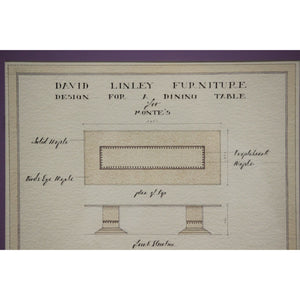 Design For A Console & Dining Table For Monte Carlo
