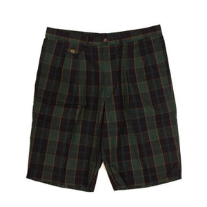 "Abercrombie & Fitch Scotch Plaid Tartan Shorts Sz 36""W"