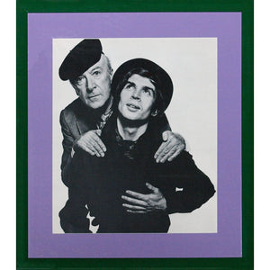 'Cecil Beaton and Rudolf Nureyev' c.1965 For David Bailey's 'Box of Pin-Ups'