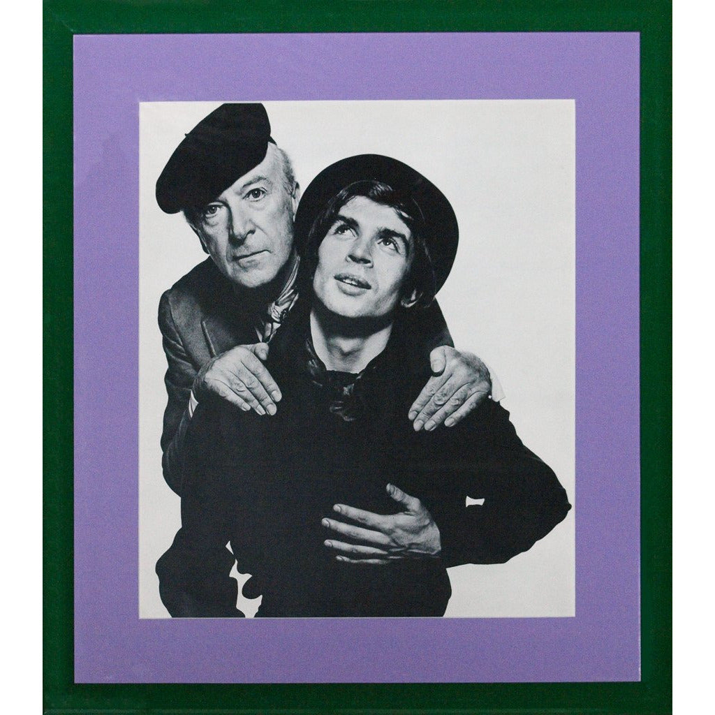 "Cecil Beaton and Rudolf Nureyev c.1965 for David Bailey's ""Box of Pin-Ups"""